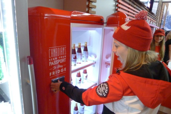 OLY Canadian Beer Fridge 20140216
